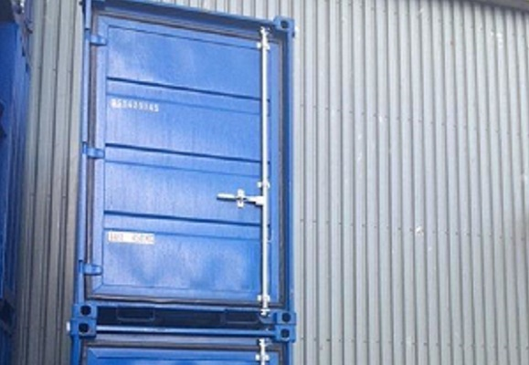 5' Container - Type Dry Box - Model Opslag