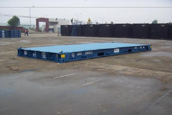 20' Container - Type Flatrack - Model Platform