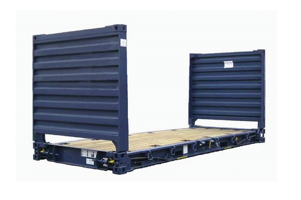 20' Container - 8'6'' - Type Flatrack - Model Collapsible