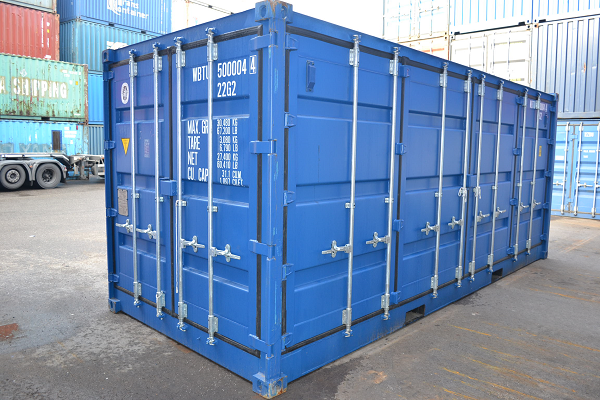 20' Container - 8'6'' - Type Full Side Access - Model Open Rechterzijde
