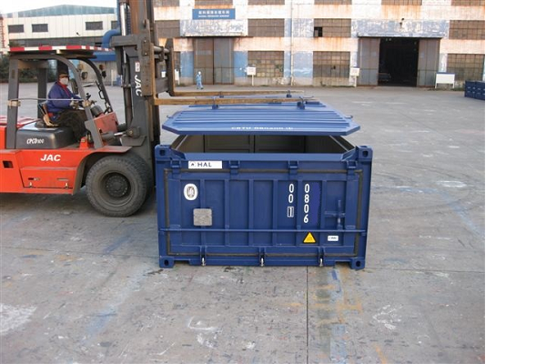 20' Container - 4'3'' - Type Half Hoog - Model Hard Top