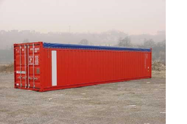 40' Container - 8'6'' - Type Open Top - Model Soft Top