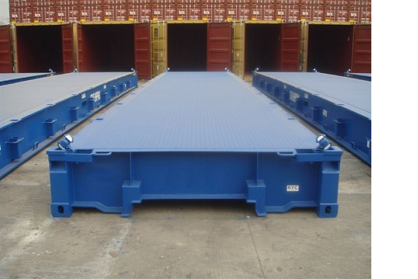 40' Container - Type flatrack - Model Platform