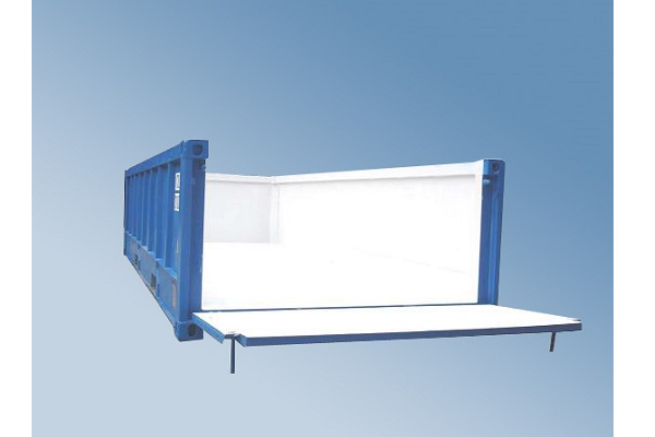 20' Container - 4'3'' - Type Open Top - Modell BIN