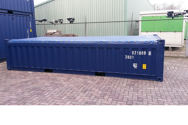 20' Container - 4'3'' - Type Open Top - Modell Soft Top