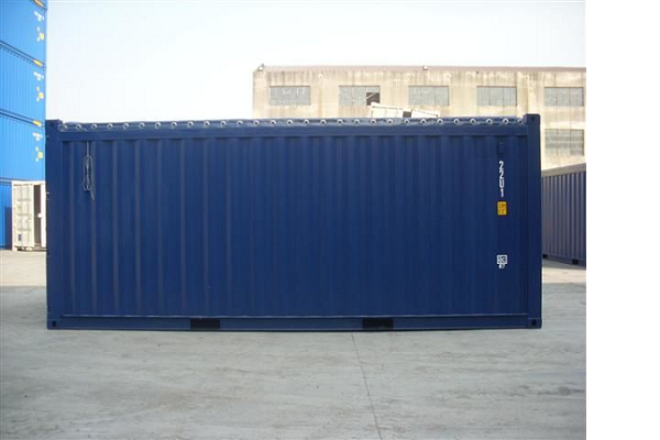 20' Container - 8'6'' - Type Open Top - Model Soft Top