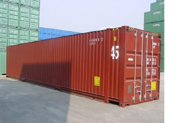 45ft Container - 9'6'' - Type Dry Box - Palletbreed