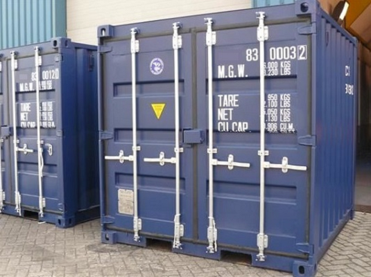 8' Container - Type Dry Box - Model Opslag