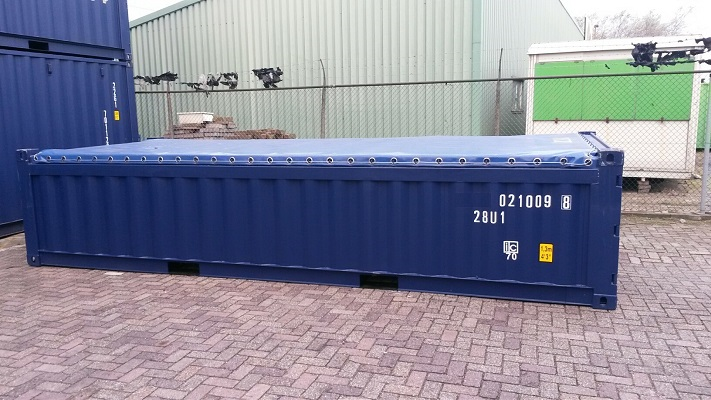 20ft Halfhoge open top container [Softtop]