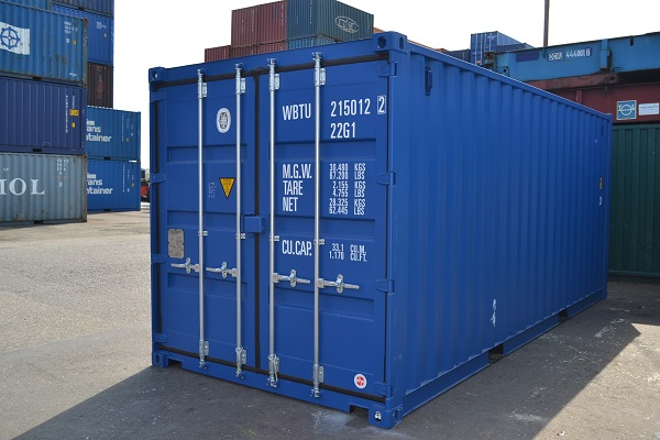 20ft dry box container - Model met houten vloer