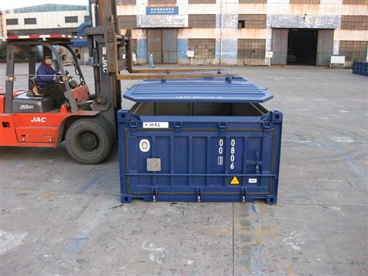 Image20ft Halfhoge Open top Container [Hardtop]